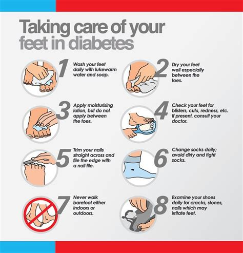 care food taking care of your if diabetic information