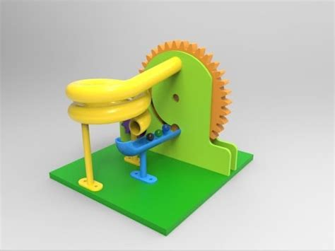 solidworks tutorial toy car solidworks motion study tutorial marble machine 2 youtube