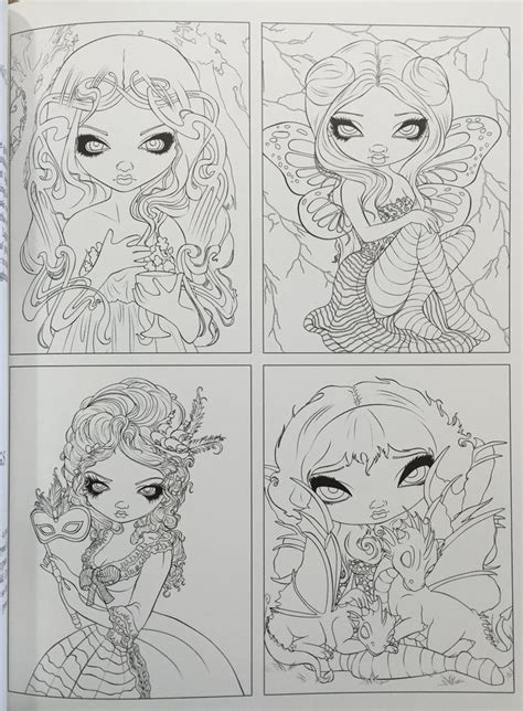 jasmine becket griffith coloring book 297 best coloring pages lineart images on coloring books coloring pages and vintage