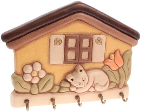 cassetta gatto appendichiavi casetta con gatto thun