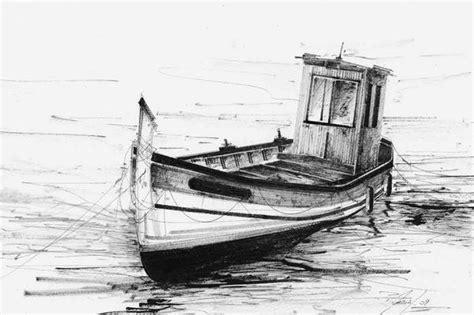 dessin bateau encre de chine pointu a l encre de chine aquarelles philippe merias
