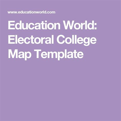 education world electoral college map template m 225 s de 25 ideas incre 237 bles sobre mapa del colegio