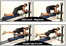 Total gym ab crunch