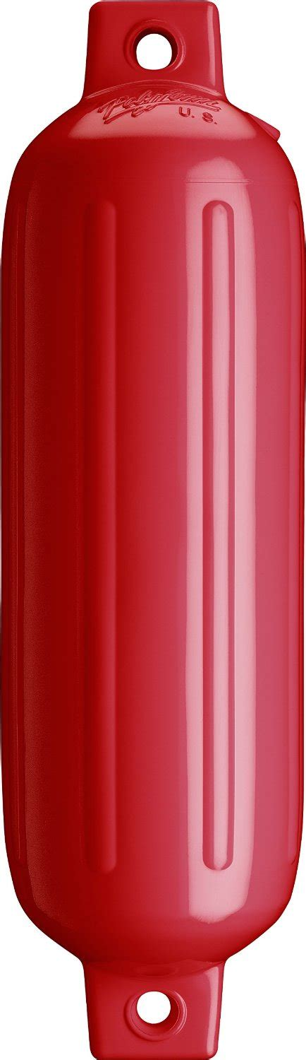 red boat dock fender multiple sizes marinedockparts - Boat Fenders Red
