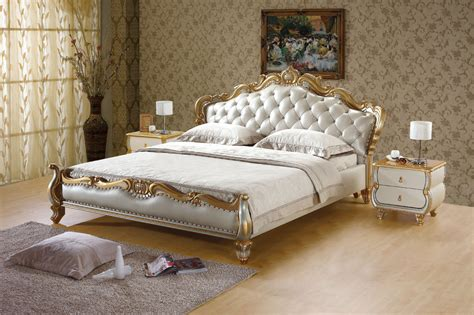 latest bed design bedroom modern king size bed design with huge headboard