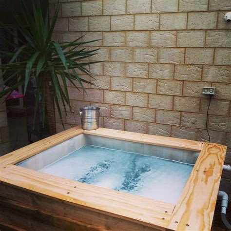 Step Down Roman Tub ibc above ground plunge pool 9 steps with pictures