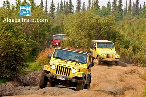 Alaska Jeep Tours Ride The To Denali Park On The Alaska Railroad