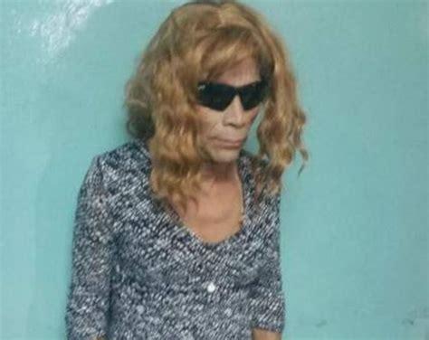 Rambut Palsu Perempuan astaga napi ini berusaha kabur pakai payudara dan rambut palsu okezone news