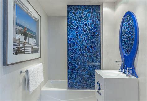 shower door alternatives Bathroom Contemporary with 12