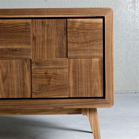 credenze legno credenza con 3 ante in legno massello design moderno nensi
