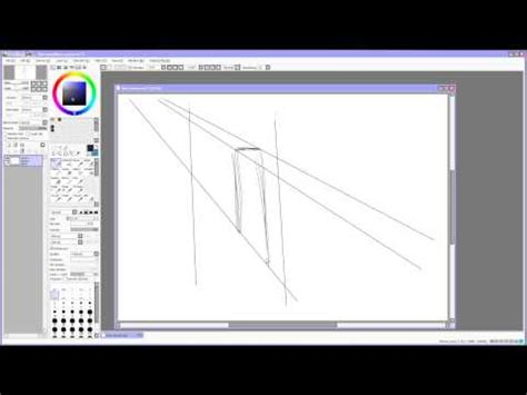 paint tool sai line tool paint tool sai tutorial lines and colorize