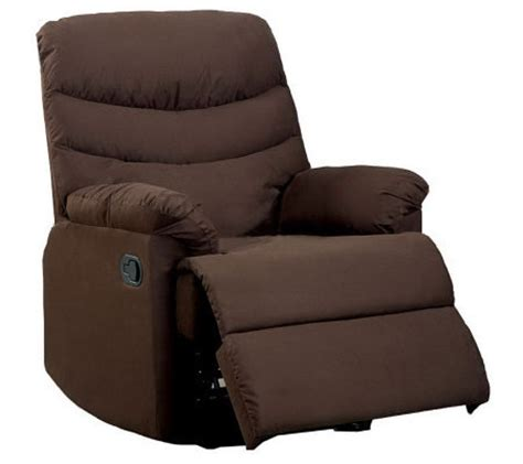 3 Position Recliner by Microfiber 3 Position Recliner Qvc
