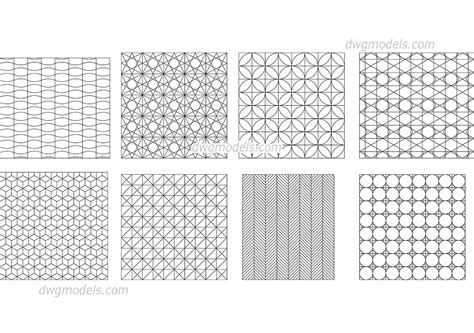 islamic pattern free dwg geometrical pattern dwg free cad blocks download