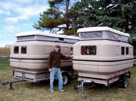 Diy Hard Floor Camper Trailer Plans teal camper assembles and breaks down like a puzzle