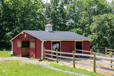Gambrel Garage by Minimalist Modern Design Of The Small Horse Barn Plans