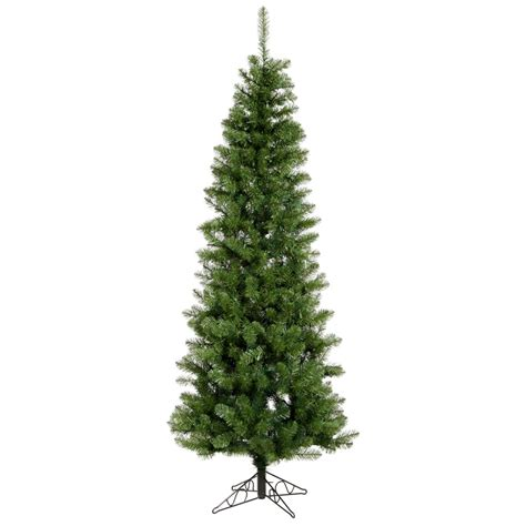 9 5 foot salem pencil pine christmas tree unlit a103085