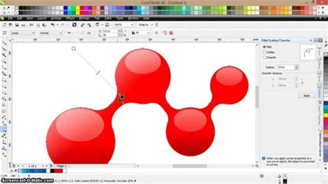 tutorial corel draw youtube drawing 3d molecules tutorial corel draw 3d molecule
