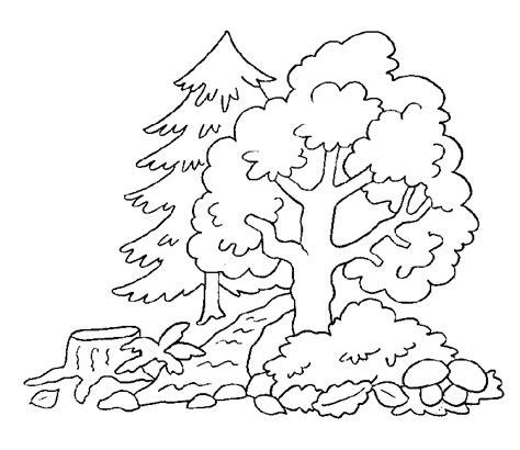 imagenes para dibujar un paisaje dibujos de paisajes para colorear