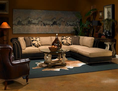 safari style home decor the african accents to decorate your home living room