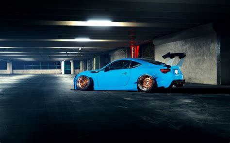 light blue subaru brz wallpapers subaru brz stance light blue cars 2880x1800