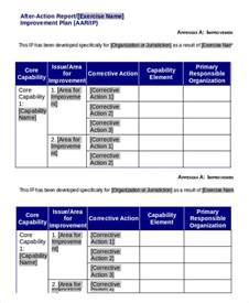 improvement report template after report template 9 free word pdf documents
