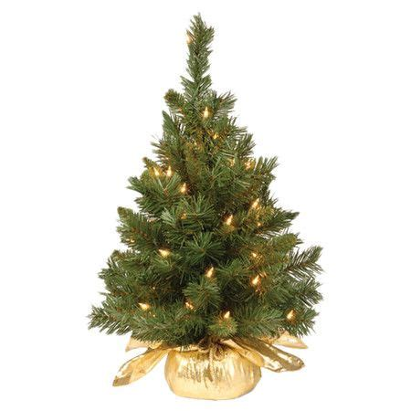 pre lit small faux fir tree in gold christmas pinterest