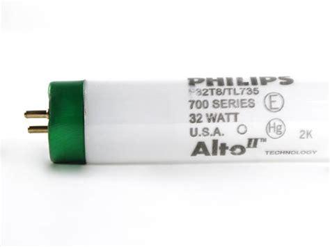 Lu Philips Tl 32 Watt philips 32 watt 48 inch t8 neutral white fluorescent bulb f32t8 tl735 alto 32w bulbs