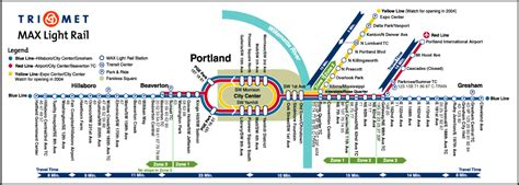 trimet max map max light rail map laminatoff