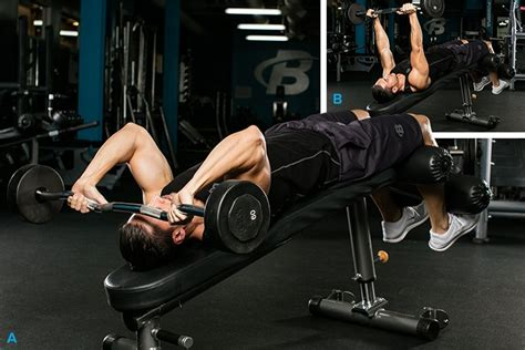 incline bench skull crushers 7 best triceps exercises you re not doing