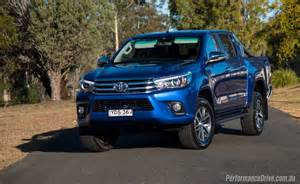 Toyota V6 2016 Toyota Hilux Sr5 V6 Review Performancedrive
