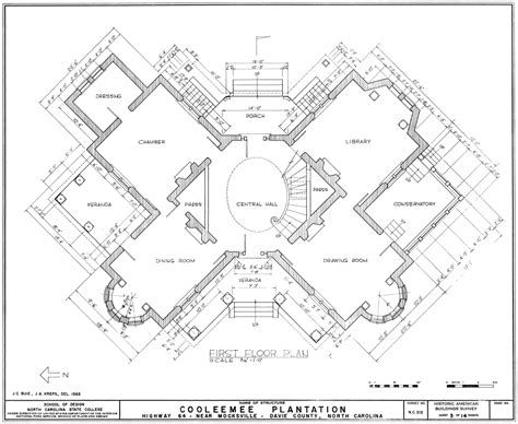 Plantation Floor Plan by File Cooleemee Plantation First Floor Plan Gif Wikimedia