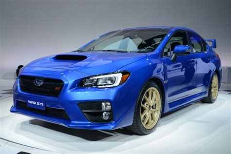 subaru sti new 2015 subaru wrx sti sports car pictures details