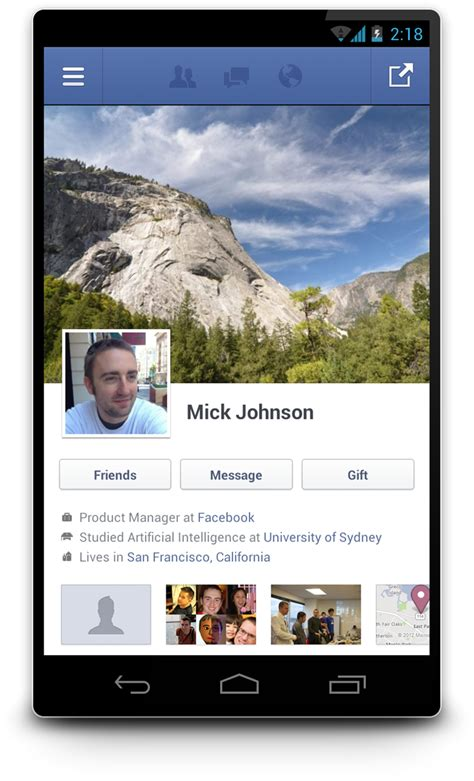 facebook android goes native with improved