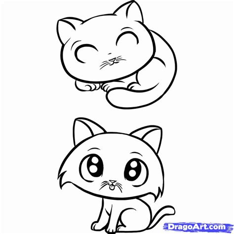 easy coloring pages of cats simple cat face az coloring pages