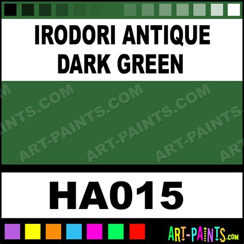 irodori antique green irodori antique watercolor paints ha015 irodori antique