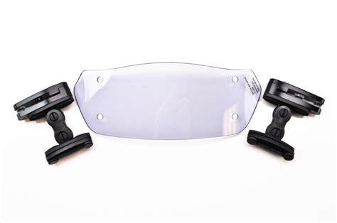 clip on visor light puig 230mm light smoke clip on visor 6319h