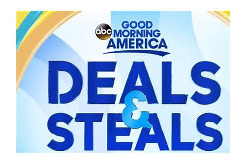 gma deals and steals today 1/25/18
