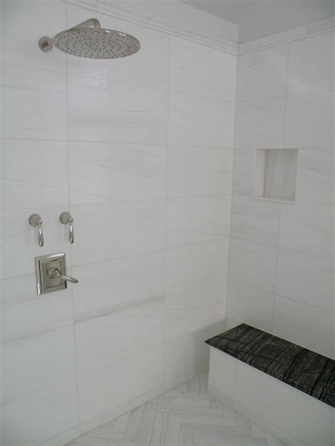 Shower Over Bath Ideas bianco dolomiti stone source