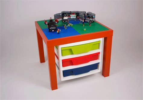 lego table with drawers orange lego table with lego storage drawers 20x20 by