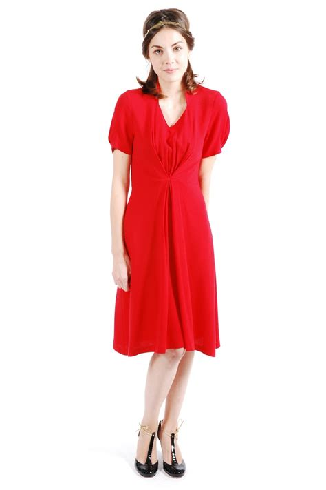 draped dresses with sleeves draped puff sleeve dress shoptiques