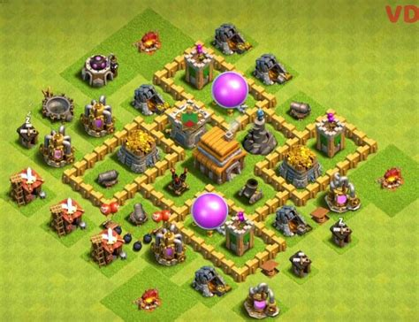 layout home village coc th 5 11 best town hall 5 farming base layouts anti giants