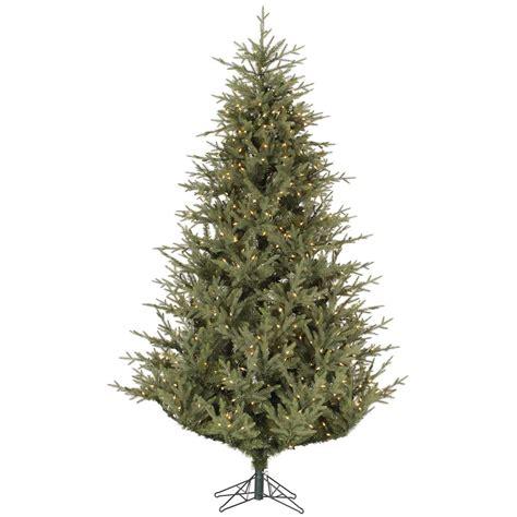 12 Foot Tree - 12 foot sutter creek fir tree all lit lights