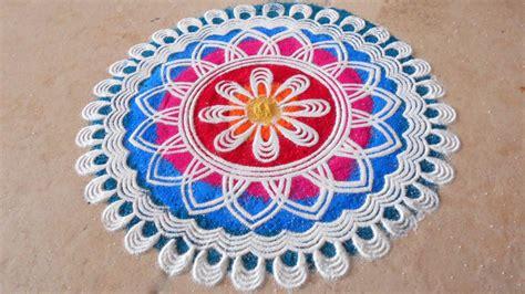 pattern of rangoli art rangoli design simple preview