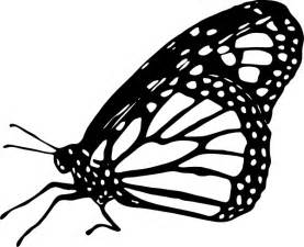 Monarch Butterfly Outline by Monarch Butterfly Clipart Cliparts Co