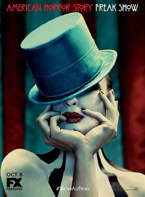 7 creepy shows like quot american horror story quot that will haunt you reelrundown american horror story freak show s new poster is glamorous and understatedly twisted e news