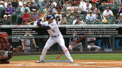 troy tulowitzki swing troy tulowitzki a swing analysis the cauldron