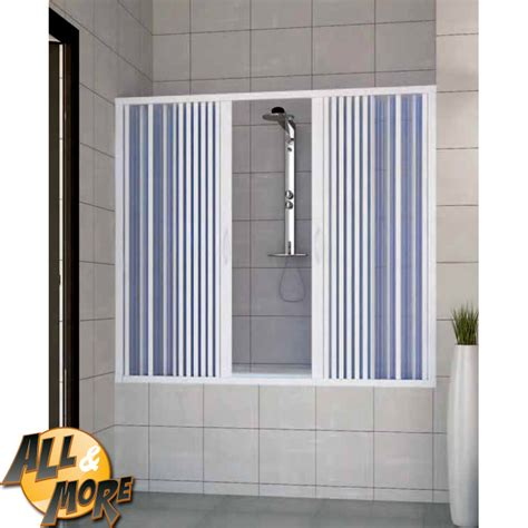 cabina per vasca all more it box cabina porta doccia per vasca in pvc con
