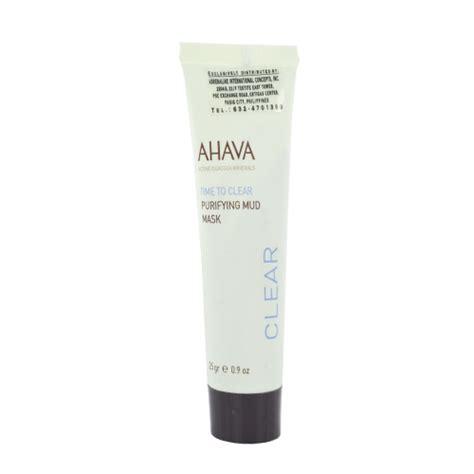 Ahava Instant Detox Mud Mask by Ahava Purifying Mud Mask