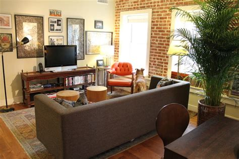 houzz eclectic living room s houzz tour and ingledale eclectic living room los angeles by modern home