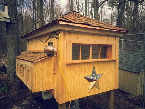Handmade Chicken Coops - the dubuc chicken coop my secret garden